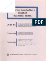 DS55,S5,S6,S8 - (1975) Interlaboratory Cooperative Study of Air Quality Measurement Methods
