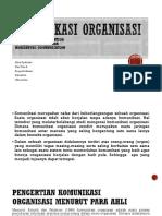 KOMUNIKASI ORGANISASI-2