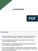 Tertiary and Sludge Treatment