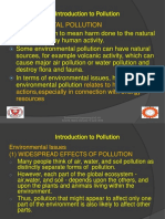 Lecture 2 Introduction to Pollution
