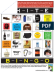 White Person Bingo (brought to you by the publishers of STUFF WHITE PEOPLE LIKE)
