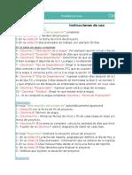 Planilla de Excel de Seguimiento de Proyecto