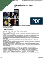 Entre El Tercer Gobierno Radical y El Quinto Gobierno Peronista