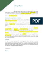 Aqualisa Quartz Case Analysis Report