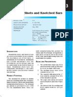 Aluminium Shots and Knotched Bars