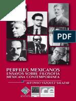 Perfiles Mexicanos. Ensayos sobre filosofía mexicana contemporánea - Alfonso Vázquez Salazar
