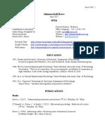 Johnmarshall Reeve CV
