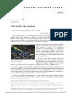 Caso - Club Atletico Boca Juniors