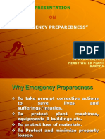Emergency Preparedness Presentation