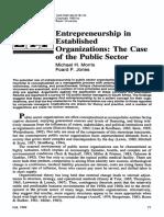 entrepreneur, public