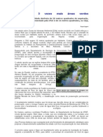 Cuiabá tem 3 vezes mais áreas verdes gumitá