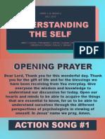 Ppt Understanding the Self