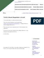 TL431 Shunt Regulator Circuit _ ElecCircuit.com