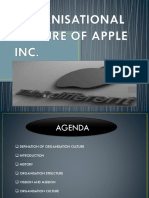 Organisational Culture of Apple Inc