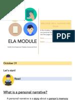 ELA Module MS4