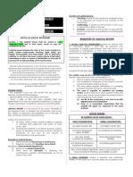 Judicial Department Concepts CONSTI LAW 1