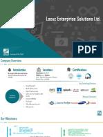 Locuz Enterprise Solutions Ltd
