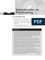 Chapter 3 - Introduction to Purchasing