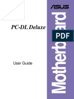 ASUS PC-DL Deluxe Motherboard USER Guide E1395
