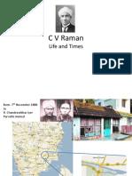 C V Raman ppt