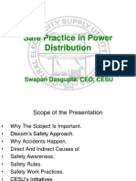 CESU Safe Practice in Power Distribution