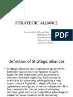 Strategic Alliance Ppt