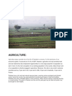 Agriculture in pakistan and its problems
