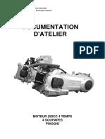 M288M - M451M MOTEUR 250CC 4 TEMPS 4 SOUPAPES PIAGGIO.pdf