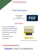 3. Classical Encryption Techniques