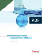 An 70048 Environmental Water Applications Notebook AN70048 E