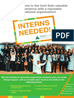 Intern Poster- University Students