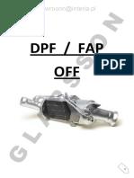 DPF Off Tutorial