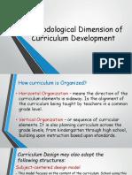 Methodological Dimension of Curriculum Development