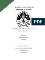Makalah Audit Sektor Publik Materi 4