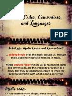 media codes