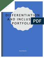 differentiation and inclusion  for portfolio