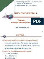 Curs 1 Membrana celulara.ppt