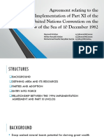 PPT Agreement Relating to the Implementation of Part XI of the UNCLOS