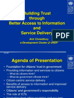 Building Trust Through Service Delivery-Chittagong