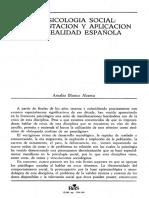 Psicología Social... Amalio Blanco