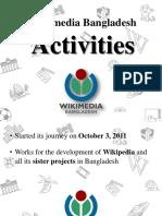About Wikimedia Bangladesh Activities