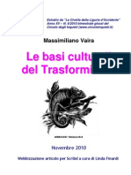 Le basi culturali del Trasformismo
