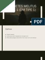 Referat DM Tipe 1.2