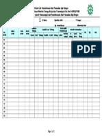 183443363 Check List Pemeriksaan Alat Pemadam API Ringan1 1 Doc