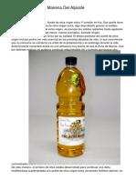 Aceite De Oliva En Mairena Del Aljarafe