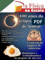 A Física Na Escola - Maio - Eclipse de Sobral