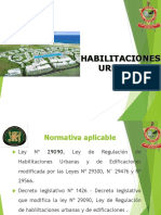 Habilitaciones Urbanas (1)