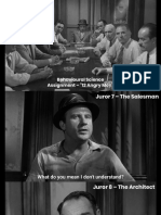 Behavioural Science – 12 Angry Men Final