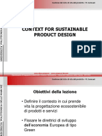 Sustainable Product Design