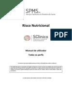 Manual de Utilizador - Risco Nutricional